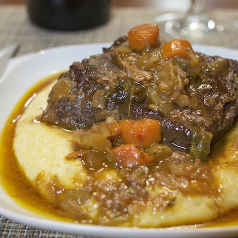 Red Wine & Porcini Braised Short Ribs with Polenta