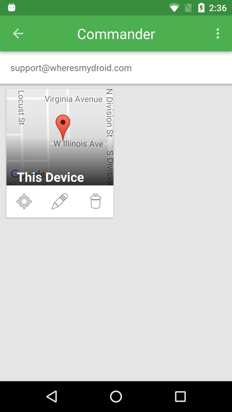 Wheres My Droid Screenshot 2