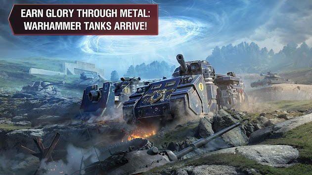 World Of Tanks Blitz By Wargaming Group APK screenshot thumbnail 1