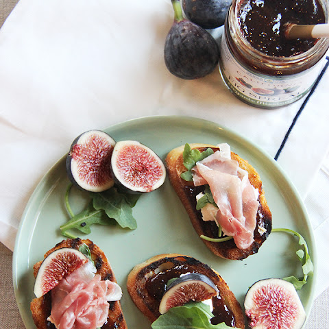 Fig & Ricotta Bruschetta