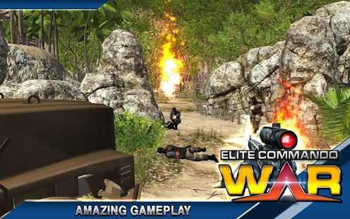 Elite Terrorist Commando War APK for Bluestacks
