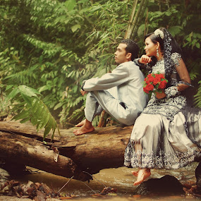 by Syafizul  Abdullah - Wedding Bride & Groom