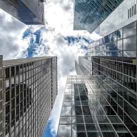 Skyscraper NY by Antonello Madau - Buildings & Architecture Office Buildings & Hotels