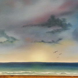 No Distractions by Diane Moretti - Painting All Painting