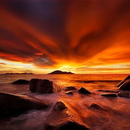 Bara Senja by Dany Fachry - Landscapes Beaches