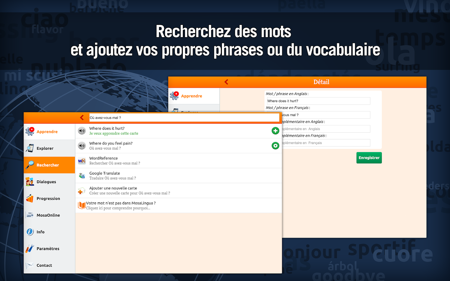 Anglais Médical - MosaLingua Screenshot 9
