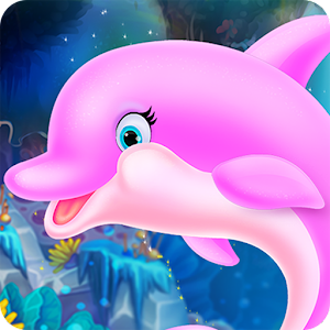 Cute Dolphin Caring and Dressup For PC / Windows 7/8/10 / Mac – Free Download
