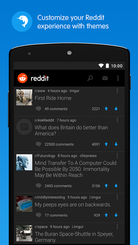 Reddit: Top Trending Content - News, Memes & GIFs Screenshot 4