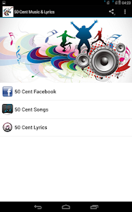 50 Cent Music & Lyrics - screenshot