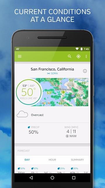 Weather Underground screenshots