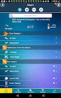Screenshot of Milan Bergamo Airport BGY