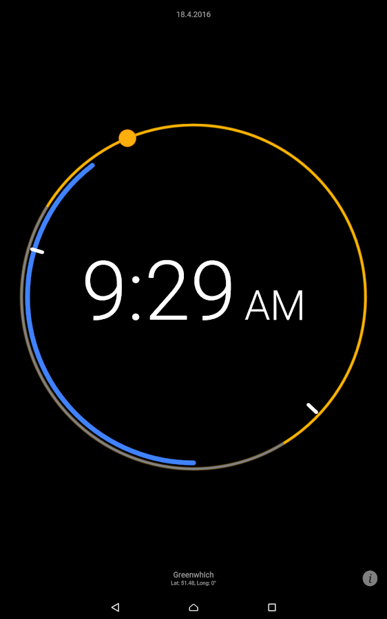 Sun Clock Screenshot 6