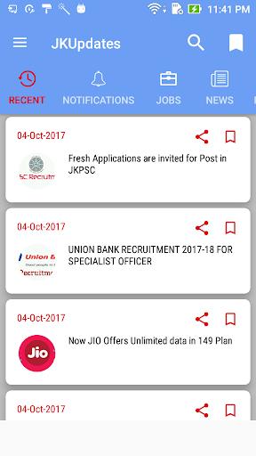 JKUpdates screenshot 2