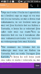 FIJIAN BIBLE - screenshot