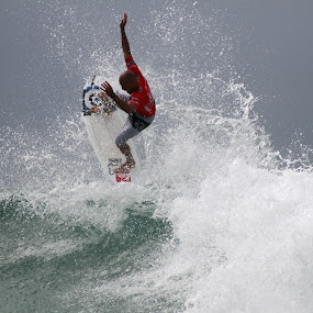 King Kelly Takes Flight by Lorne Greenlaw - Sports & Fitness Surfing