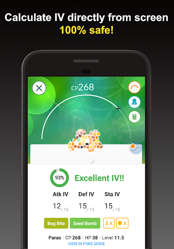 Poke Genie - Overlay IV Calculator for Pokemon Go For PC