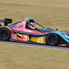 Racing car by Peter Salmon - Transportation Automobiles ( car, speed, racing, race, colours )