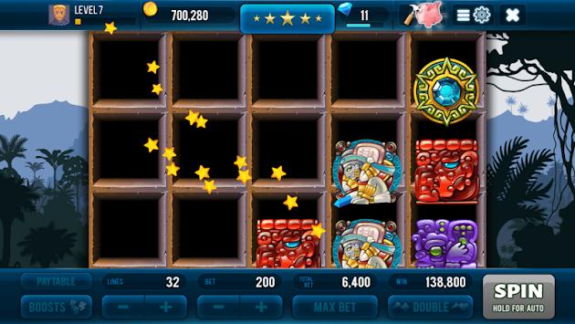 Aztec Lost Empire Slots - Casino Game apk screenshot