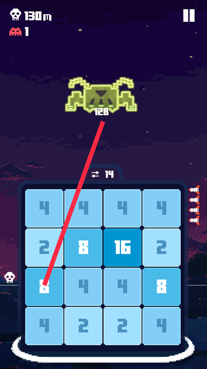 Invaders 2048 Screenshot 3