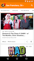 Screenshot of Eventbrite - Fun Local Events