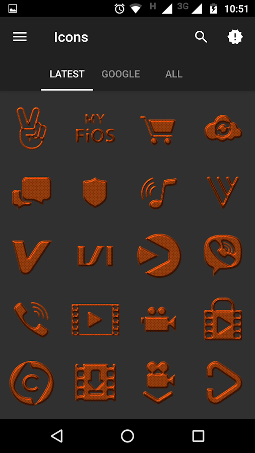 Cuprum Icon Pack Screenshot 6
