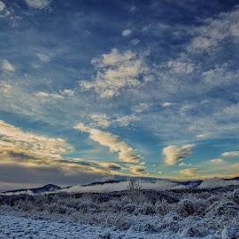 ZIMA by Darko Golik - Landscapes Cloud Formations ( pauk 62, zima, hladno )
