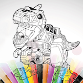 App Power Rangers Coloring Kid apk for kindle fire
