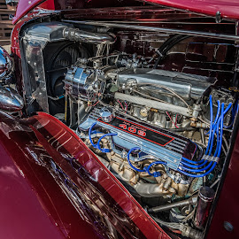 A 409 by Mike Watts - Transportation Automobiles ( 409, car, engine, nash, chev )
