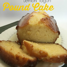 Lemon Yogurt Pound Cake #Yogurtperfection