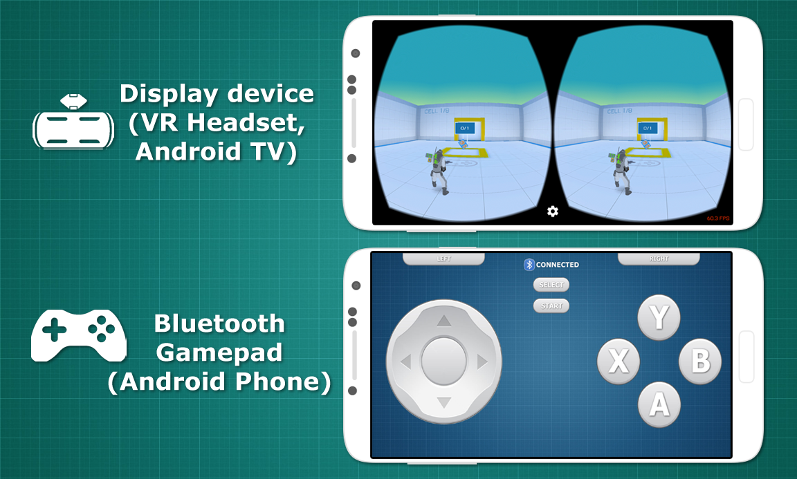 Bluetooth Gamepad VR & TV Screenshot 1