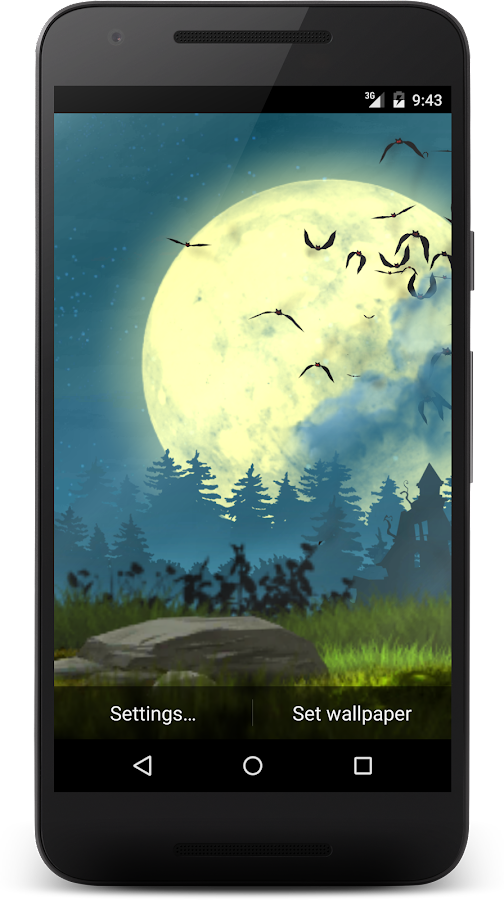Bats live wallpaper Screenshot 6