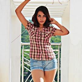 future model by Venkat Krish - People Portraits of Women ( #photoshoot, #potrait, #model, #girl, #friend )