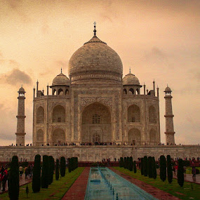 Taj Mahal, India by Leire Unzueta - Buildings & Architecture Statues & Monuments ( taj mahal, india )