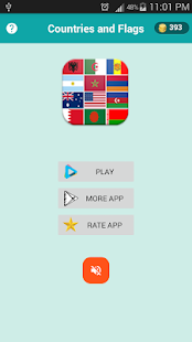 quiz flags countries - screenshot