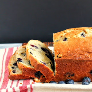 Blueberry Coconut Pound Cake