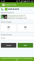 Screenshot of Emerald Card - H&R Block