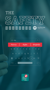 The Safety Keyboard by Moto - screenshot