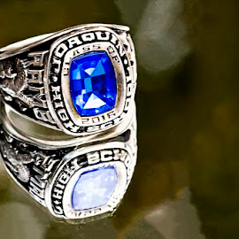 Senior by Sabrina Causey - Artistic Objects Jewelry ( ring, reflection, high school, class ring, senior,  )