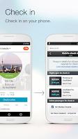 Screenshot of Air NZ mobile app