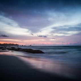 Mexican Sunrise by Habashy Photography - Landscapes Sunsets & Sunrises ( sunrise, beach,  )