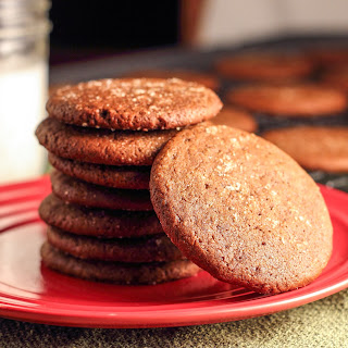 Blackstrap Molasses Ginger Cookies