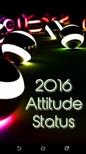 2016 Attitude Status - screenshot