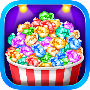 Popcorn Maker - Yummy Rainbow Popcorn Food