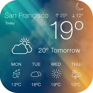 WunderGround Weather Widget App