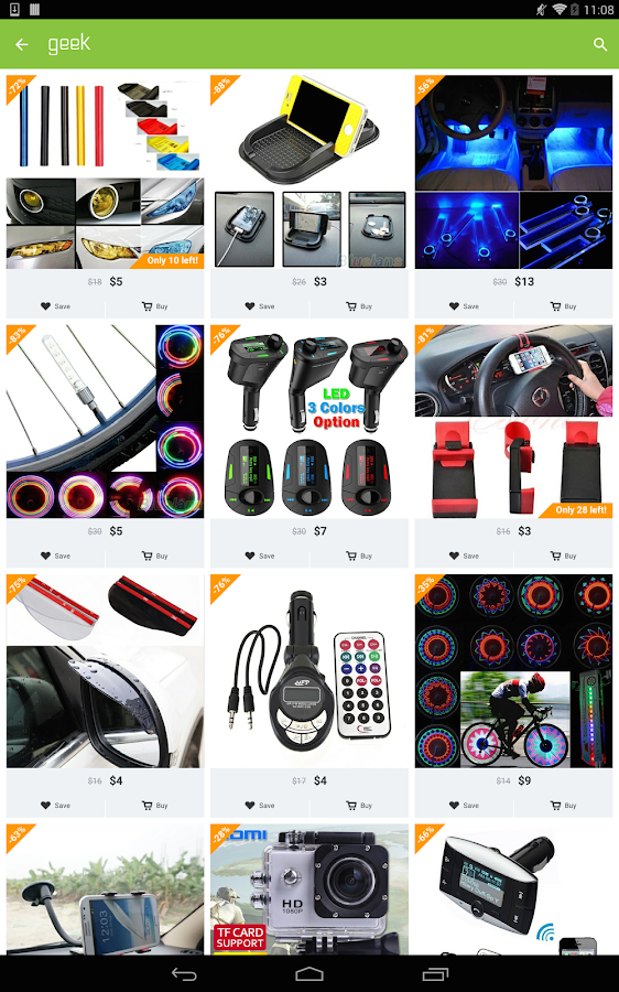 Geek - Smarter Shopping Screenshot 9