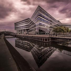 Navitas by Ole Steffensen - Buildings & Architecture Office Buildings & Hotels ( modern, navitas, architecture, denmark, aarhus, education, waterfront, research, innovation )