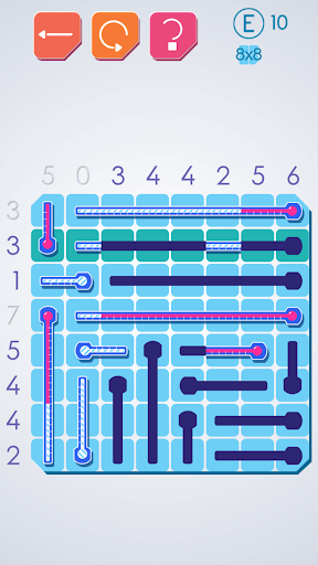 Thermometers Puzzles screenshot 1