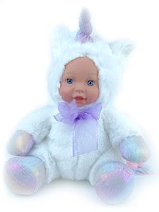 "Кукла серии ""Город Игр"" Единорог белый 25 см"