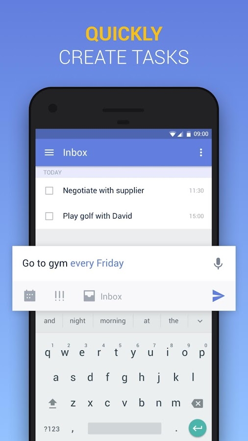 TickTick: To Do List with Reminder, Day Planner Screenshot 5