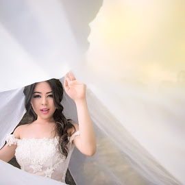 Rubytree by Adzen Jazz - Wedding Bride ( wedding photography, wedding, artistic, bride, portrait )